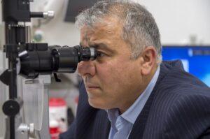 Ophtalmologue diagnostic glaucome