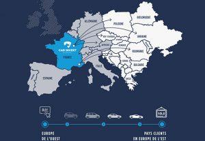 Carinvest Europe Marché leasing automobile pays de l'est